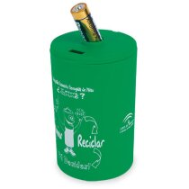 contenedor de pilas usadas personalizado hielo