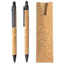 Bolígrafo con funda de corcho natural