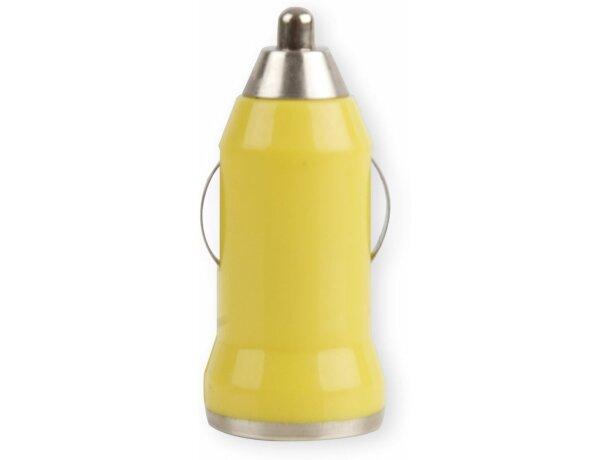 Cargador portátil para el coche personalizado amarillo