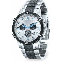 Reloj de pulsera acabado acero inoxidable