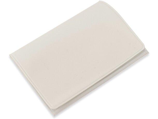 Porta tarjetas triple barato blanco