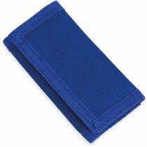 Monedero con llavero especial para moteros personalizado azul