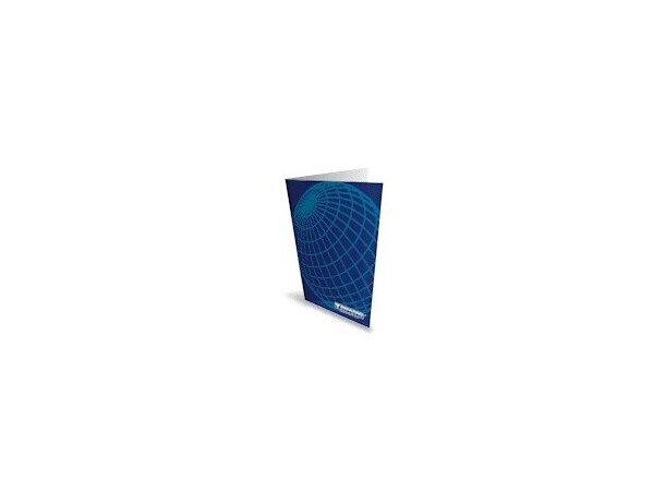 Carpeta dossier de cartulina sin plastificar personalizada