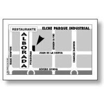Tarjeta de visita básica plastificado 1 cara