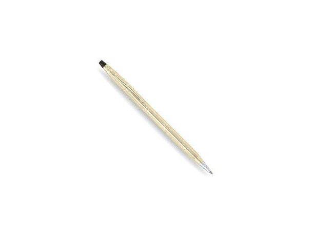 Bolígrafo elegante en oro de 10 quilates de la marca Cross personalizado