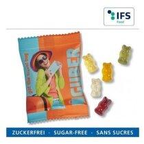 Gominolas sin azúcar forma de ositos personalizada