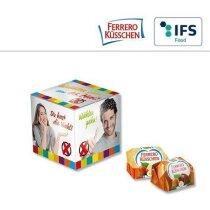 Mini cubo con Ferrero Kusschen