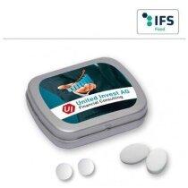 Lata pastillas  de menta personalizada