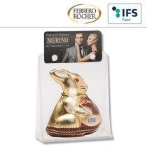 conejito marca Ferrero Rocher