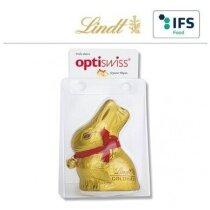 conejo de chocolate marca Lindt personalizado