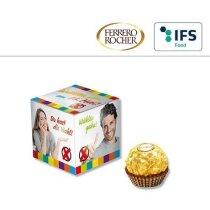 Mini cubo con Ferrero Rocher personalizado