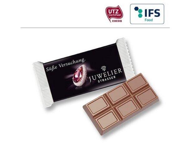 Tableta de chocolate individual personalizada
