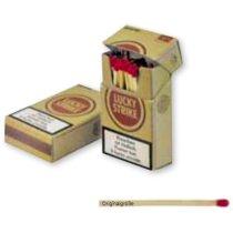 Caja De Cerillas Especial Con Forma De Paquete De Tabaco