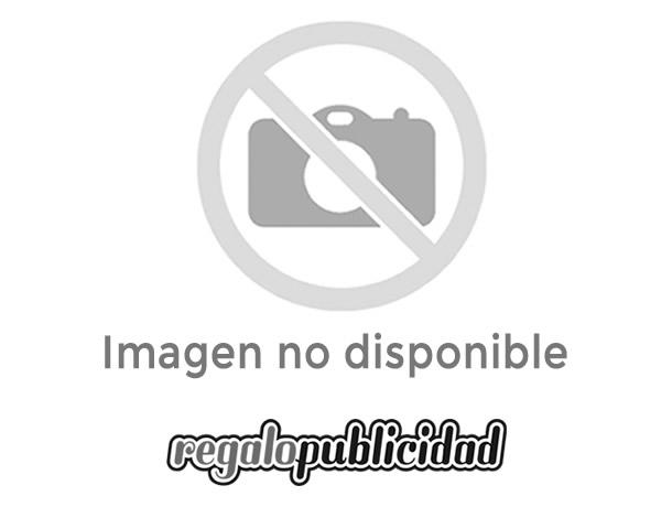Batería de plástico de 10000 mah con detalles en azul merchandising