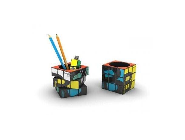 Lapicero con forma cubo de rubik personalizado