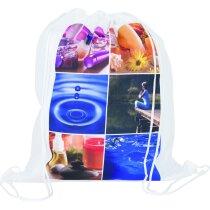 Mochila con cordones para sublimación o serigrafía merchandising