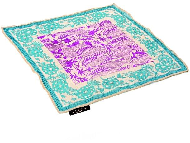 Pañuelo de chifón 50 x 50 merchandising