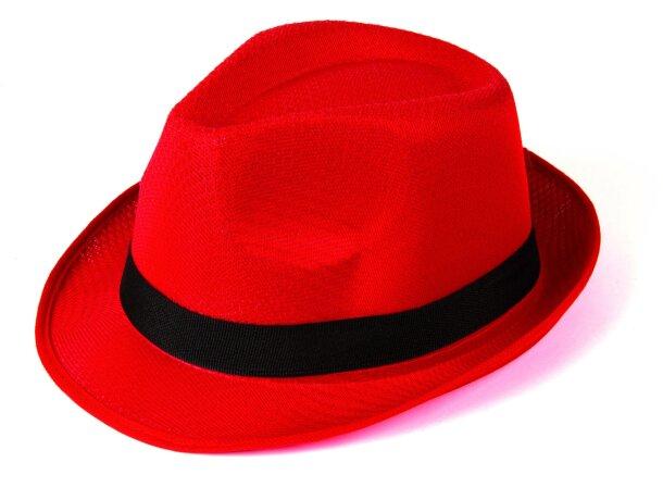 Sombrero Angie personalizado rojo