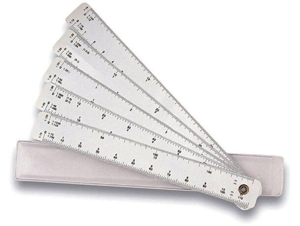 Escalimetro de 10 escalas personalizado
