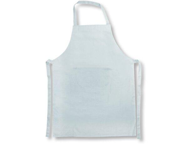 delantal de algodón en colores personalizado blanco