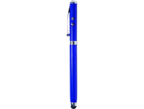 Bolígrafo de aluminio 4 en 1