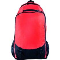Mochila deportiva de nylon personalizada roja