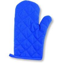 Manopla De Algodon En Colores Personalizada Azul