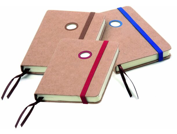 Bloc de notas mini con tapas de corcho para empresas