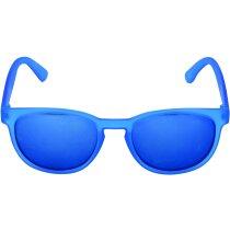 Gafas de sol de plástico varios colores grabado azul