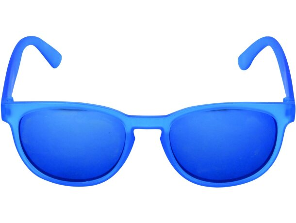 Gafas de sol de plástico varios colores personalizada azul