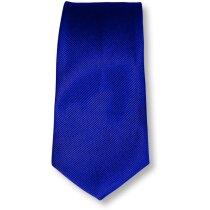 Corbata de poliester en colores azul