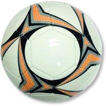 Pelota fútbol con diseño de colores