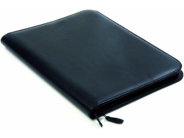 Portafolios de polipiel con cremallera original