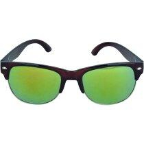 Gafas de sol estilo aviador personalizada marron