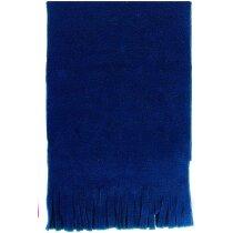 Bufanda polar sencilla personalizada azul