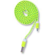 Cable para cargar de 1 metro personalizado amarillo