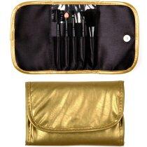 Set de brochas de maquillaje en estuche personalizado