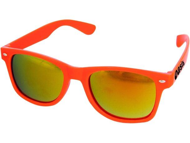 Gafas de sol con cristales de espejo personalizada