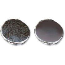 Espejo de metal decorado