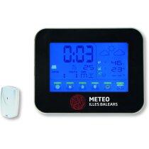Estación meteorológica con pantalla táctil