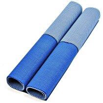 Set de manteles de PVC azul personalizada