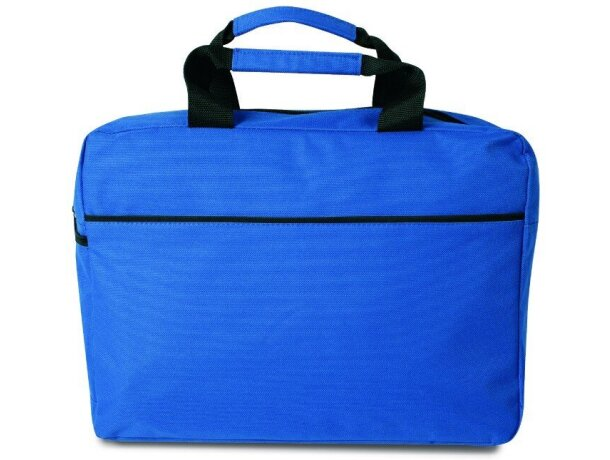 Bolsa de congresos poliéster 600D grabado azul