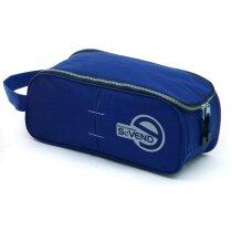 Bolsa portazapatillas de poliéster 600d azul