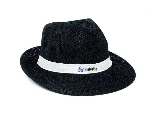 Sombrero de colores personalizado negro
