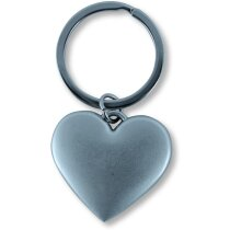Llavero corazón de metal personalizado