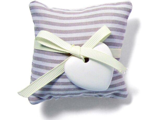 Saco de aroma en bolsita de algodón personalizado gris