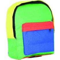 Mochila para niños con bolsillo delantero personalizado