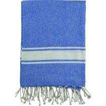 Pareo toalla de algodón en varios colores azul
