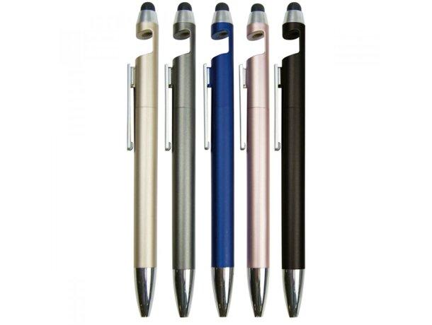 Bolígrafo multifunción metálico personalizado