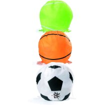 Mochila con forma de pelota personalizada